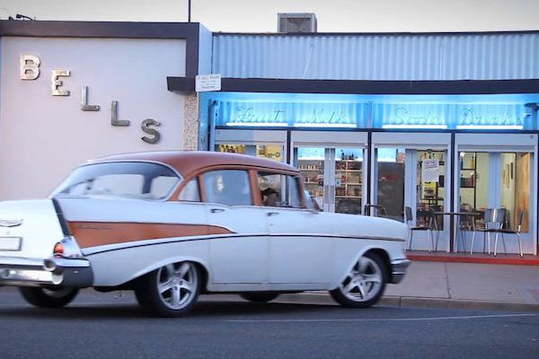 Bells Milk Bar is a step back into the 1950s