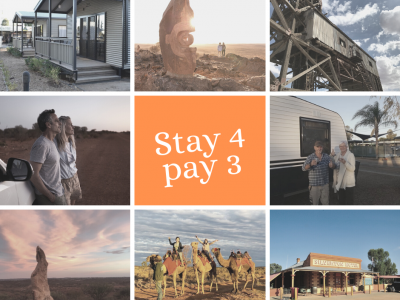 Broken Hill Tourist Park_Stay 4 Nights only Pay 3